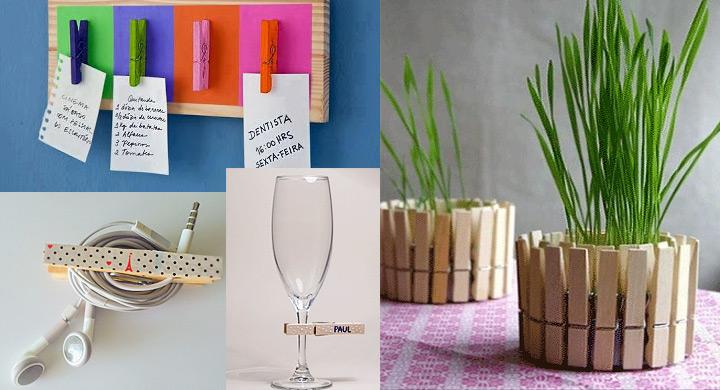 Ideas para reciclar pinzas de tender la ropa - Como reciclar para decorar ...