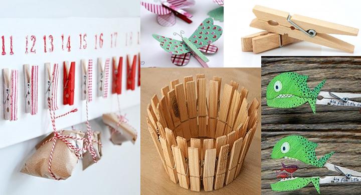 Ideas para reciclar pinzas de tender la ropa - Reciclar ropa manualidades ...