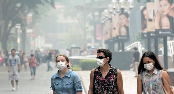 Alergia primavera contaminacion