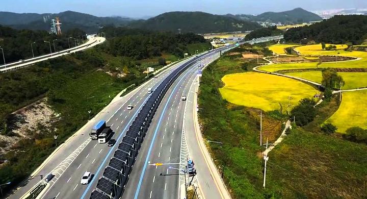 Carril bic Korea paneles solares 2