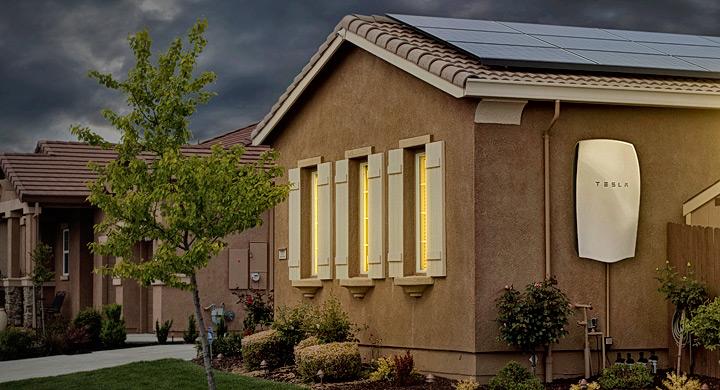 Bateria Tesla para el hogar