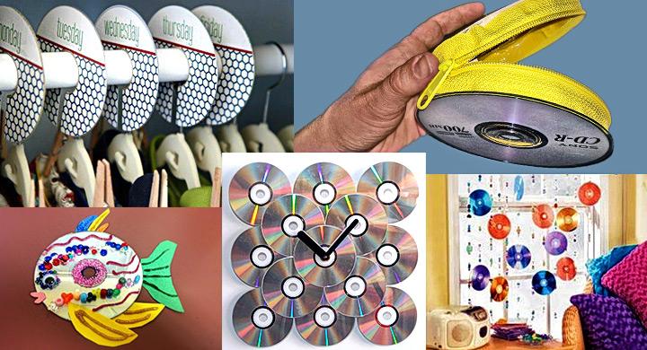 Reciclaje CDs