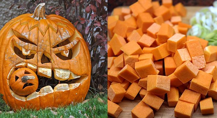 Consejos eco para decorar con calabazas en halloween - Decoracion de calabazas ...