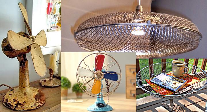 Ideas originales para reciclar un viejo ventilador for Reciclar cosas para decorar