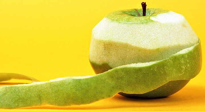 Manzana pelada