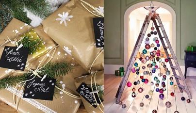 Arbol navideno y regalos