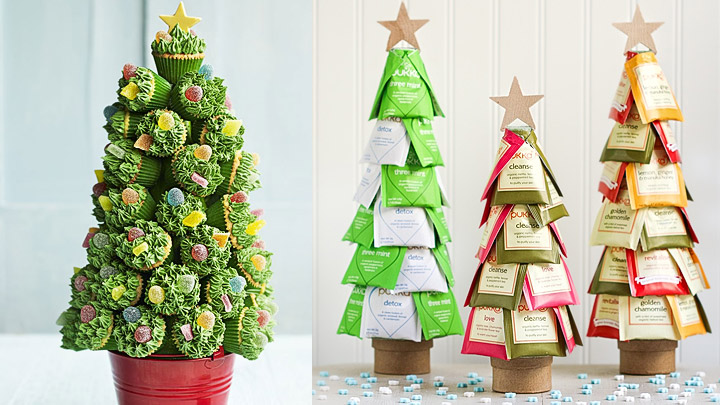 Diy rboles de navidad originales y ecol gicos for Como hacer un arbol de navidad original