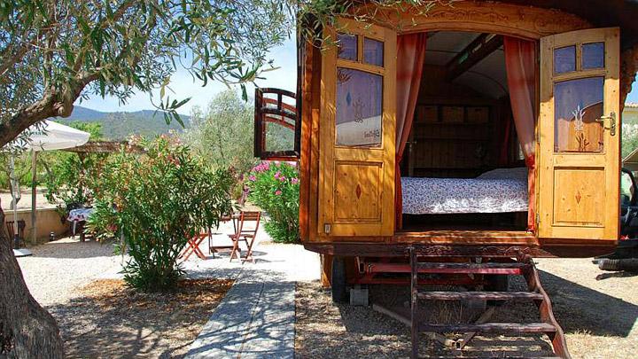 Vagon de tren casa