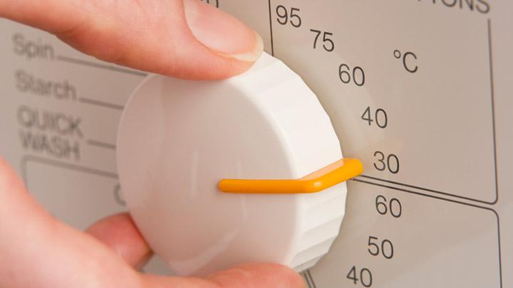 Rueda temperatura lavadora 30 grados