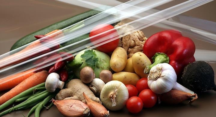 Verduras embalaje