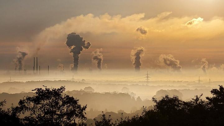 Paisaje polucion