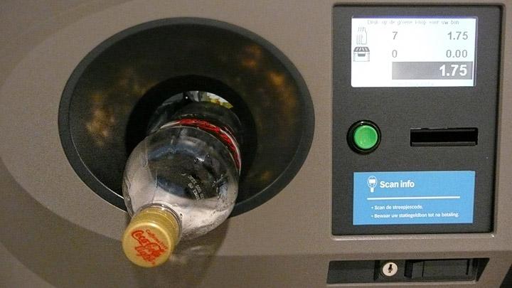 Maquina para envases retornables