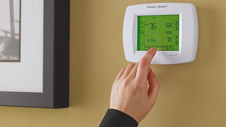Panel aire acondicionado