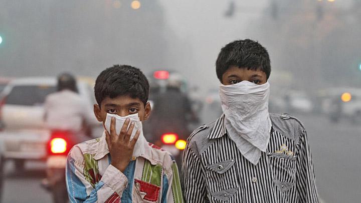 Polucion aire India