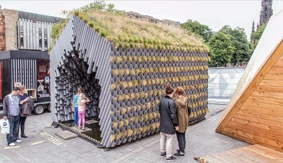 Pabellón de Rotterdam el Festival de Arquitectura de Edimburgo