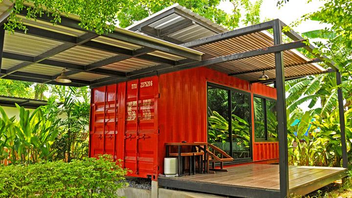 Container hogar