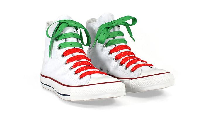 Reutilizar cordones zapatos
