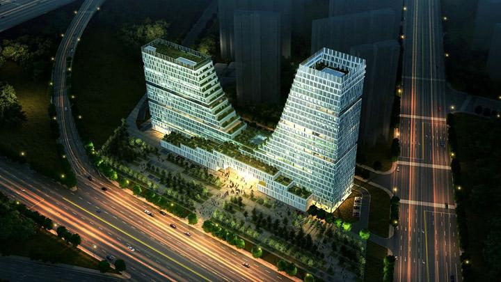 Naijing-Towers