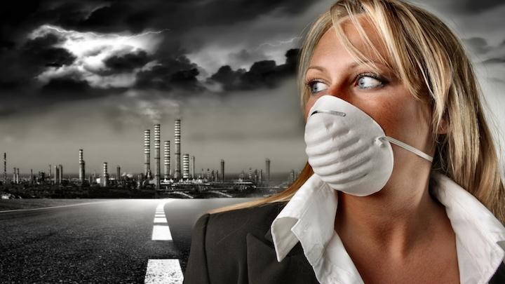 Contaminacion atmosferica industrial