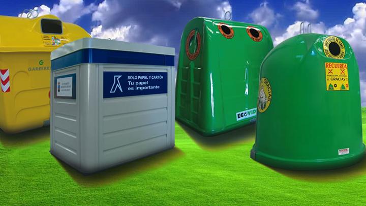Reciclaje - Contenedores de basura para reciclaje ...